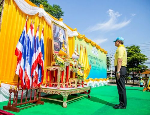 The Department of Corrections organizes a project on development volunteering in tribute to the Late King Bhumibol Adulyadej, Rama IX on the Memorial Day on 13th October.