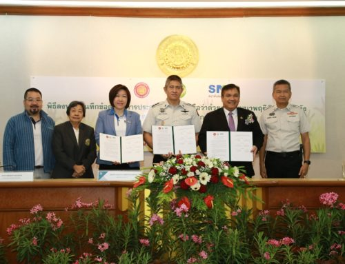 The Department of Corrections coordinates with Kasetsart University and the Federation of Thai SME to develop inmates' vocational training and preparation for re-entry