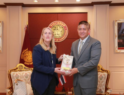 Ambassador of  Switzerland to Thailand pays a courtesy call on Director General of Department of Corrections