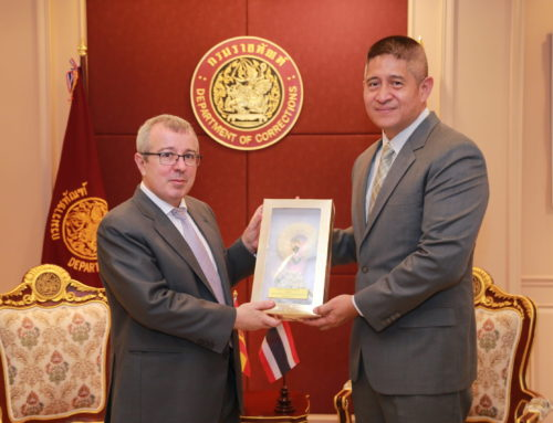 Ambassador of  the Kingdom of Spain to Thailand pays a courtesy call on Director General of Department of Corrections